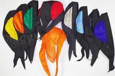 skull cap hat do du doo rag  w/ cooling air holes stretch sweat band USA +colors