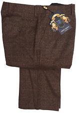 hommes Marc Darcy habillé pantalon à carreaux style James - foncé
