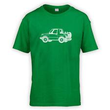 Vitara Escudo Kids T-Shirt -x10 Colours- Off Road 4x4 FatBoy Green Lane Mud