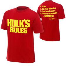 WWE Hulk Hogan Hulk's règles T-shirt officiel toutes tailles nouveau