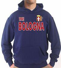 Felpa con cappuccio KJ1526 Bologna Campione d'Italia 1941 Scudetto Fascio