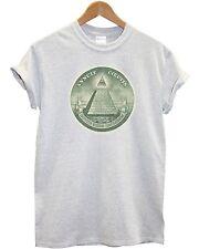 Dollar T Shirt Hipster Triangle Illuminati Shop Man Top Money America Hipster