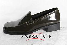 Arco Damen Slipper Ballerina Halbschuhe Sneakers  oliv grün  NEU!