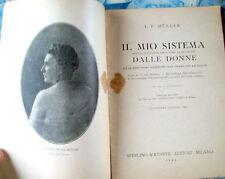 1944 ESERCIZI DI GINNASTICA PER LE DONNE FAMOSO MANUALE DI J.P.MULLER ILLUSTRATO