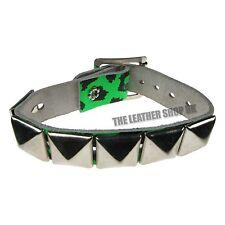 Imprimé Léopard Punk Clouté Pyramide Handmade Bracelet De Poignet Bracelet