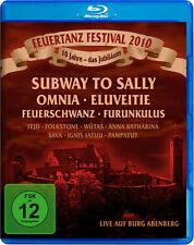 Blu-Ray Danse du feu Festival 2010 Live sur Burg (Château) Abenberg