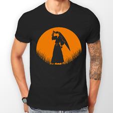 Bleach Ichigo Kurosaki moon anime manga T-Shirt Unisex T-shirt Tee Tutte le Taglie