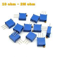 3296 Multiturn Variable Resistors - Potentiometer, Preset, Trimmer, Pot