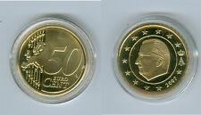Belgio 50 Centesimi PP/Prova (È possibile scegliere: 1999 - 2016)