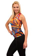 Singlet Tops Ladies Fashion Top Soft Mesh Fabric Quick Drying Comfort Sara Crave