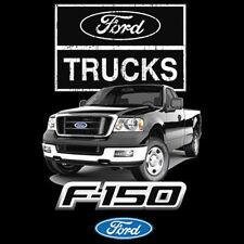 Ford Trucks F-150 T-Shirt Built Tough Hot Rat Rod Tee