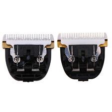 Hair Clipper Hair Trimmer Stainless Steel Ceramics Titanium Blade Cut Head #Cu3