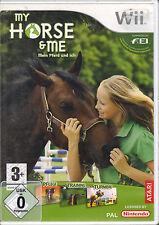 """"""" My Horse & Me - Mein Pferd """" ( Nintendo Wii)"""