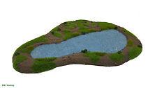 Wargames Scenery Terrain Resin Modular Lake/Pond Bolt Action Warhammer 40K