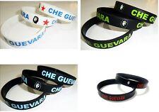 Che Guevara Rubber Silicone Bracelet Guevara Bracelet Biker Bracelet Wristband