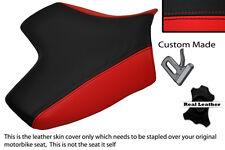 RED & BLACK CUSTOM FITS KAWASAKI Z750 07-12 & Z1000 07-09 FRONT SEAT COVER