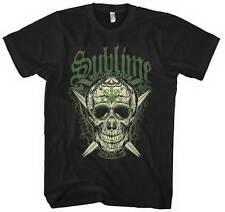 SUBLIME - LBC Skull - T SHIRT S-M-L-XL-2XL Brand New - Official T Shirt