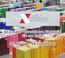 Plotterfolie matt x-film 63cm x 10 25 50m Selbstklebefolie Möbelfolie Klebefolie