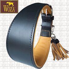 WOZA Premium Windhund Halsband Vollleder Rindnappaleder Greyhound Collar G26640