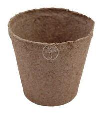"Jiffy Round Peat Pots 4.5"" x 4"" Deep Compostable #340 - 100 pots"