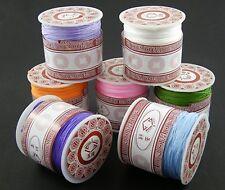 0,074 €/m hilo de nailon 1mm Shamballa nylon thread macrame kumihimo bastelfaden Cord
