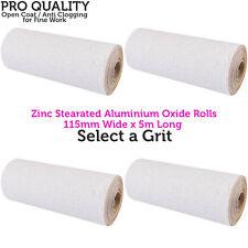 5m óxido de Aluminio Rollo Stearated Papel de Lija Grano Fino Rolls-Para Relleno/pintura