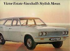 Vauxhall Victor FD Estate 1968-69 UK Market Sales Brochure 1600 2000 3300