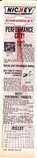 1969-1970 NICKEY CHEVROLET PERFORMANCE CITY  ~  NICE ORIGINAL PRINT AD