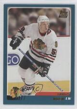 2003-04 Topps Traded #TT95 Travis Moen Chicago Blackhawks Rookie Hockey Card