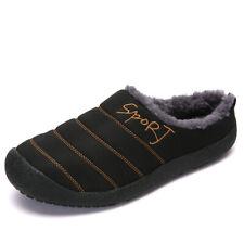 Men's Outdoor Soft Warm Slipper Large Size Waterproof Shoe Winter Indoor Shoes