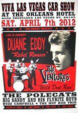 Duane Eddy Ventures POSTER Viva Las Vegas Car Show #15 Polecats Big Sandy Kruse