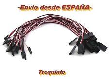Cable alargador servo con conector futaba (1 ud.) radiocontrol y arduino.