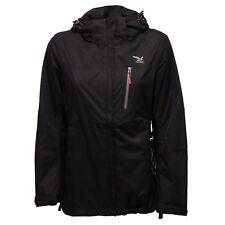 3250R giubbotto donna SALEWA PERES nero giacca cappuccio jacket woman