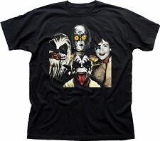 STAR Wars Ribelli KISS Jedi Yoda Chewie Luke r2d2 Nero T-shirt fn9330