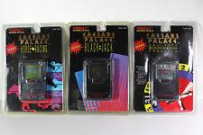 Rare Caesars Palace Tiger Electronics Gambling Roulette Black Jack Horse Racing