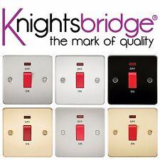 Knightsbridge Piatto 45A 45 Amp 1 Gang 1G DP Bipolare