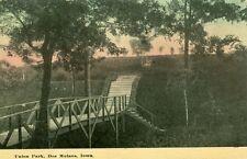 Des Moines,IA. The old bridge in Union Park