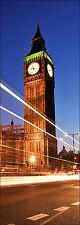 Sticker de porte déco trompe l'oeil Londre réf 572 (Tailles au choix)