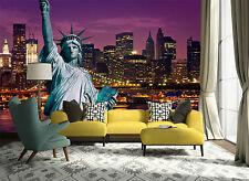 3D New York City Building Wall Paper Wall Print Decal Wall AJ WALLPAPER CA