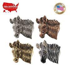 Lapel Pin or Magnet, M113Pr Creative Pewter Designs Zebra Premium