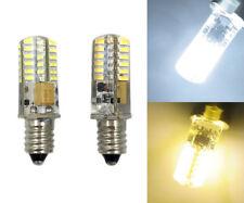 E10 Mini Base LED bulb 2W 48LED 3014SMD AC DC12V/110V/220V Silicone Light #1