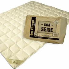 Wild-Seide Sommerdecke Sommerbett Bio Cotton Decke waschbar kbA Baumwoll Bezug