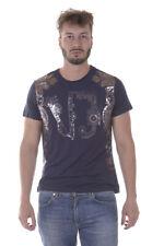 T-shirt Maglietta Versace Jeans Sweatshirt % ELARA Uomo Blu B3GPA734-231