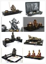 sitzende Buddha Fengshui Figur Thai Buddha Kerzenständer Nr:14FQ284M