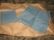 "military medical wrapper sterilization cloth cotton 12"" x 12"" pack 6 vintage"