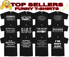 Funny Mens T-Shirts Novelty t shirts Joke t-shirt Birthday Gift tee shirt Party