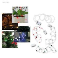 LED Lichterkette mit 12 SMD LEDs am Draht, batteriebetrieben, Batterie-Betrieb