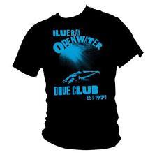 Blu RAY Open Water immersione subacquea Club Mako Shark Da Uomo 100% COTONE T-shirt