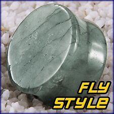 LABRADORITE pietra Orecchio Plug Ear Piercing chirurgico Flesh Tunnel LABRADORITE Stone Corno Legno