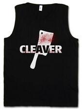 CLEAVER TANK TOP Sopranos The Horror Slasher Butcher Messer Axt Hackebeil Beil